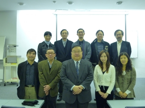 Lecture given by Prof. Karima Fumitoshi from the University of Tokyo (16 April 2010)