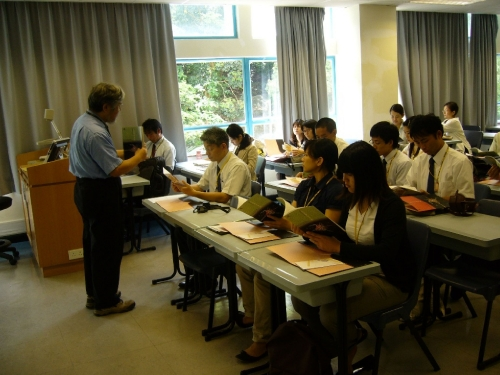 Talk given by Kojima Yoshiharu on education problems in Hong Kong (July 26 2010)