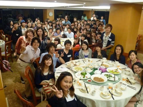 Welcome Dinner Held by the Student Interface Committee (7 October 2011)